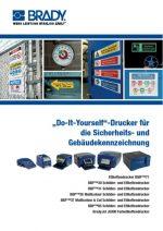 Do-It-Yourself-Drucker für Sicherheits- und Gebäude-Kennz
